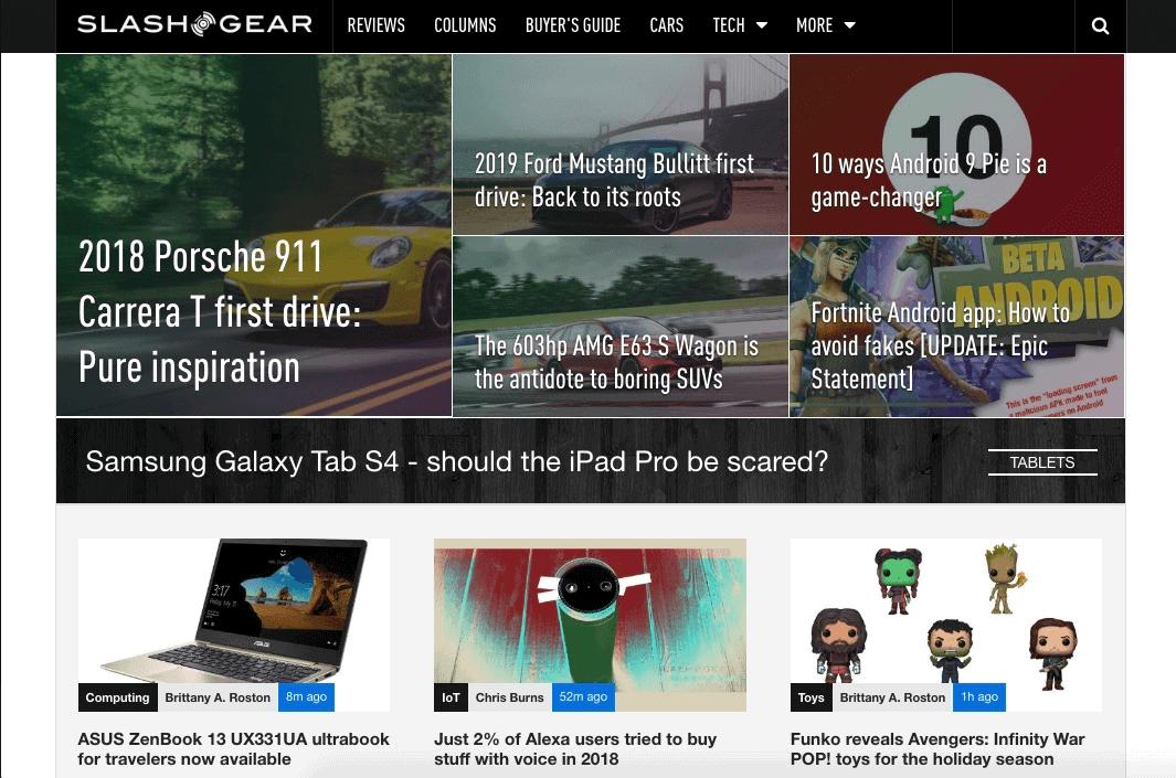 The 12 Best Tech Blogs: SlashGear