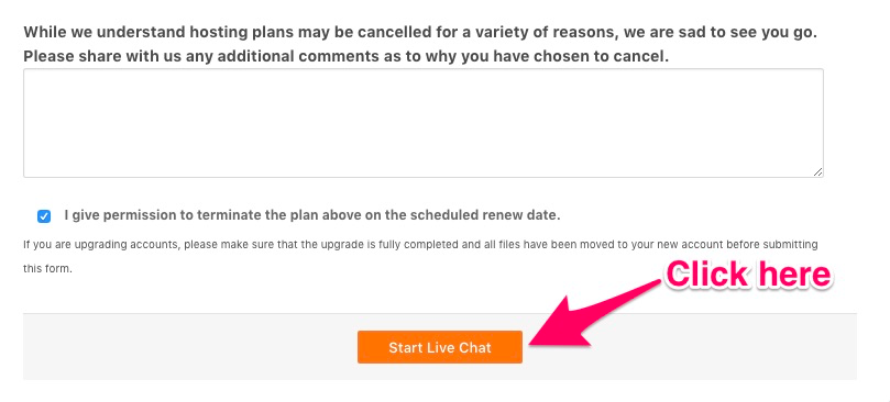 How to Cancel HostGator in 5 Easy Steps: Start Live Chat