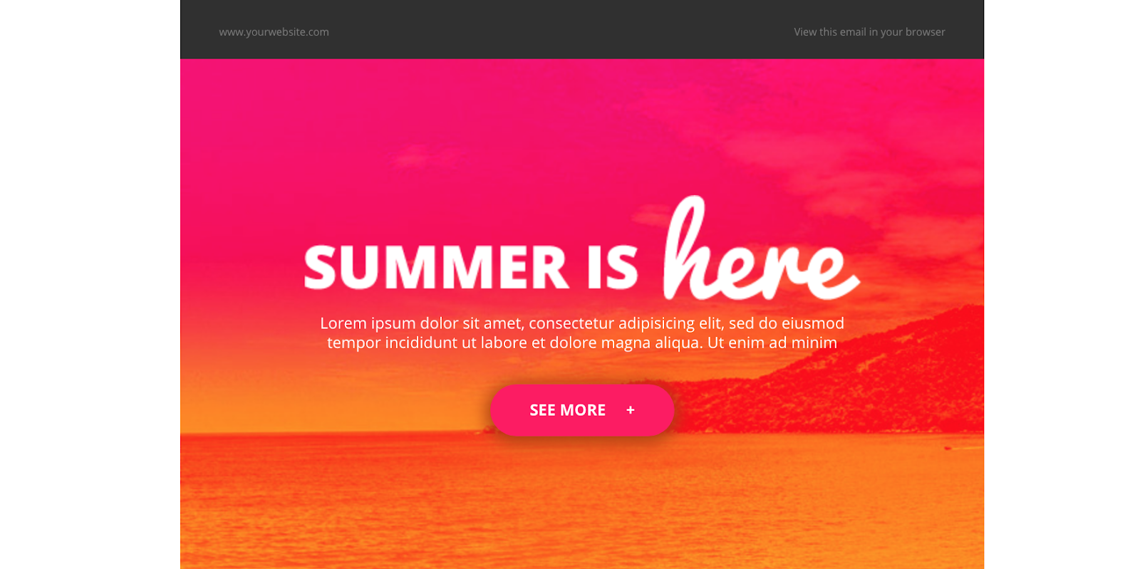 The Best Free MailChimp Templates for Bloggers - Summer