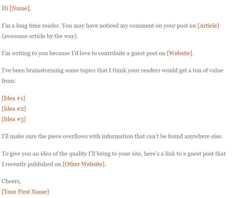 guest blog pitch