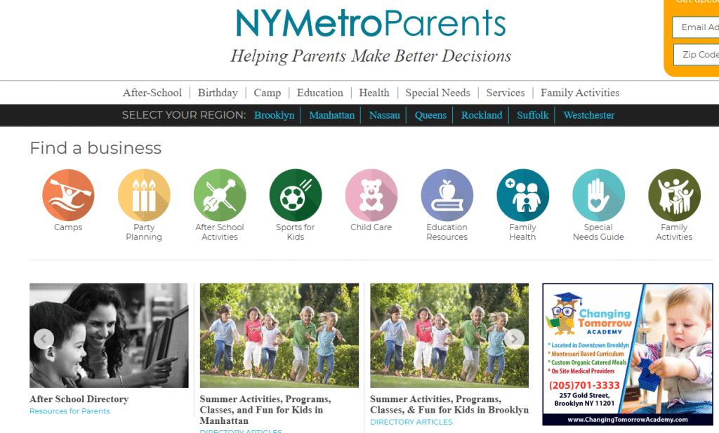 New York Metro Parents