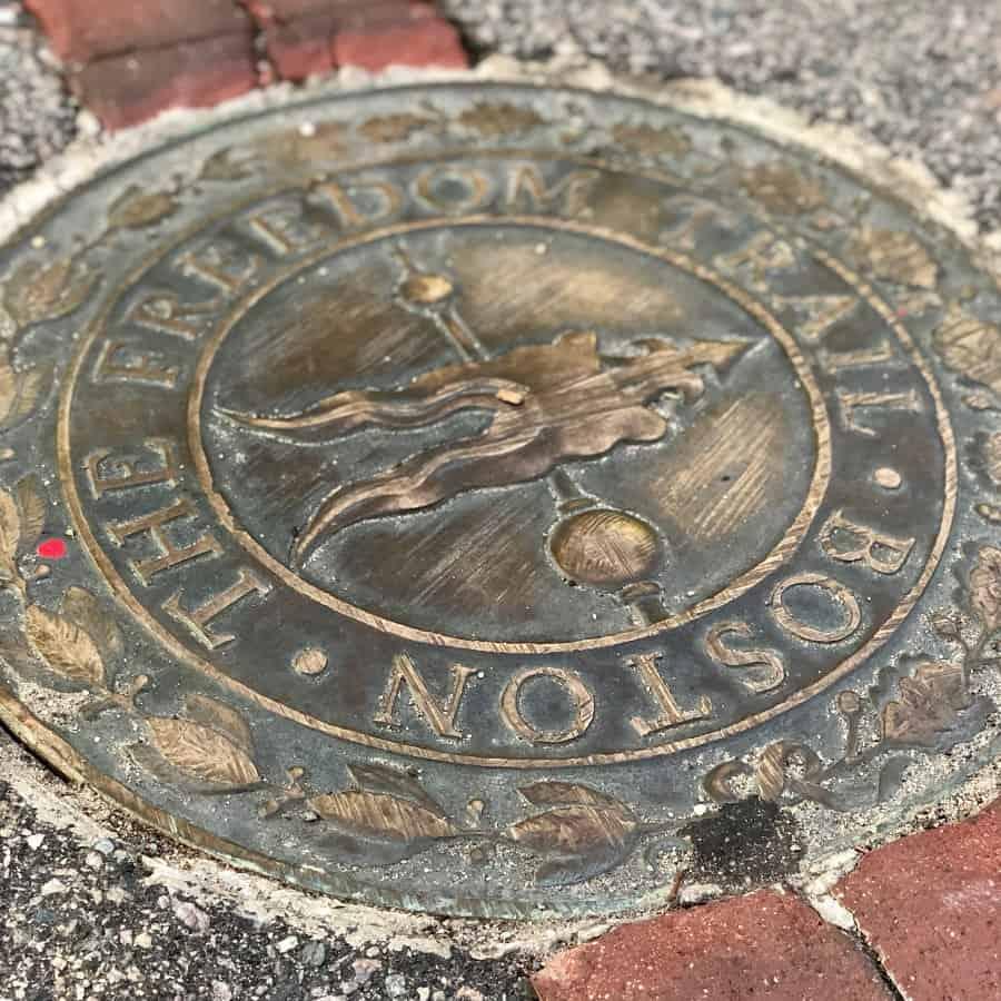 the freedom trail boston